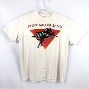 Vintage Steve Miller Band 1989 Tour Shirt Concert